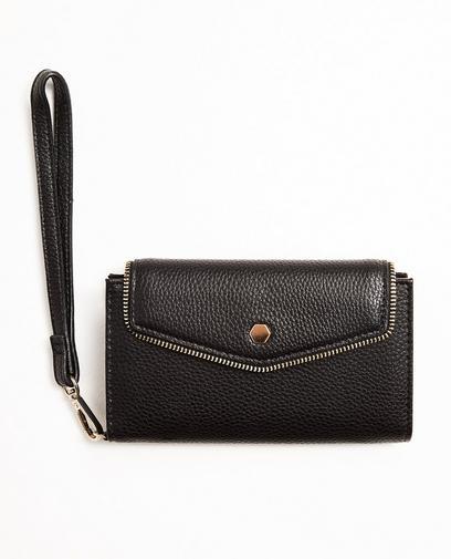 Zwarte portefeuille